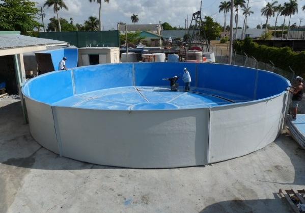 Dolphin Fiberglass Products Inc Tanks Ponds Aquariums Aquaculture